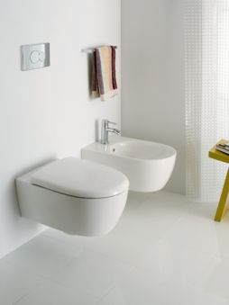 WC - WC suspendus - Lovely Compact 49 x 35,5 - blanc