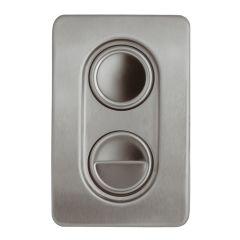 Bâti-supports - Accessoires bâti-supports - Publica 8 x 1,2 x 12,5 - chromé
