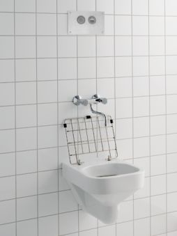 Equipts pour collectivités - Déversoir et vidoir - Publica 49 x 40 x 37 - blanc