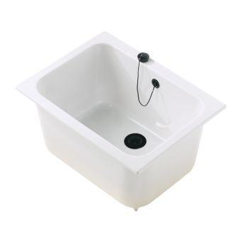 de-labo - Equipts pour collectivités - Cuves à encastrer - Cuves pour laboratoire 60 x 45 - blanc