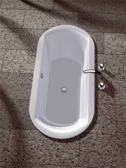 Baignoires - Baignoires de forme - Dreaming ovale 180 x 85 - blanc