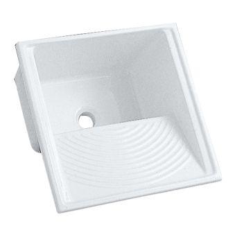 Equipts pour collectivités - Bacs à laver - Publica 60 x 60 x 36 - blanc