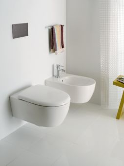 WC - WC suspendus - Lovely Rimfree® 54 x 36 - blanc