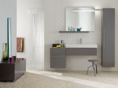 WC - WC au sol - Lovely Rimfree®  - blanc