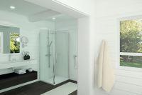 LUISINA - Cosy - Porte de douche pivotante et paroi fixe Cosy 900 mm