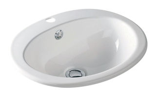 LUISINA - Villeroy & Boch - Volta - Vasque à encastrer Volta en céramique - 605 x 485 mm