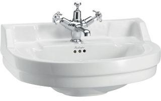LUISINA -  - Edouardien - Lavabo à poser Edouardien en céramique - 560 x 470 mm - 2 trous de robinet