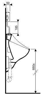 Equipts pour collectivités - Electronique pour urinoirs - Flushtronic 501 à alimentation apparente 1