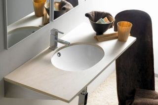 LUISINA -  - Modena - Vasque sous-plan Modena en porcelaine - 465 x 385 mm