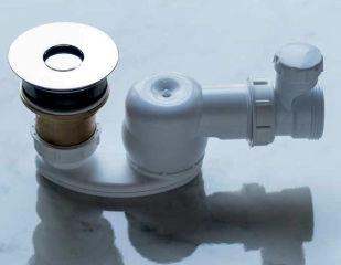 LUISINA - Vidage pour baignoire à déclenchement automatique