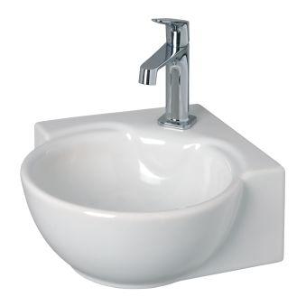 Lave-mains - Lave-mains céramique - Atlantis 34 x 34 - blanc
